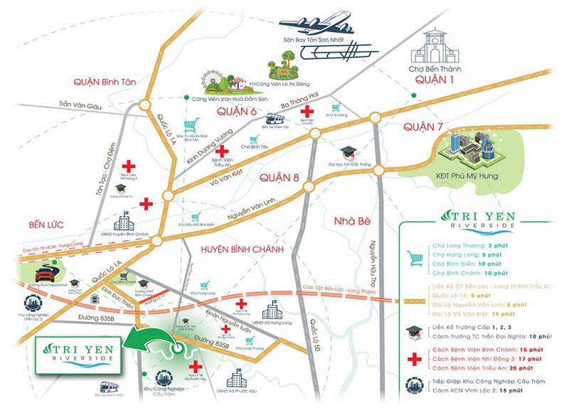 Vị trí kiến tạo giá trị khu đô thị Trị Yên Riverside